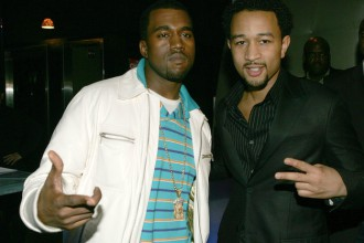 Kanye West & John Legend, 2005, Duvet, New-York City
