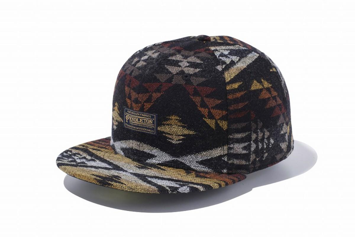 Découvrez la nouvelle collection de casquettes Pendleton x New Era