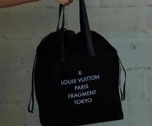 Premier teaser de la collab' entre fragment design et Louis Vuitton