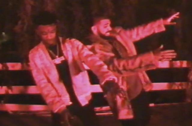 Drake et 21 Savage mettent le feu dans le dernier clip «Sneakin»