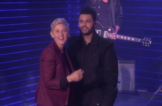The Weeknd at the EllenShow - TRENDS periodical