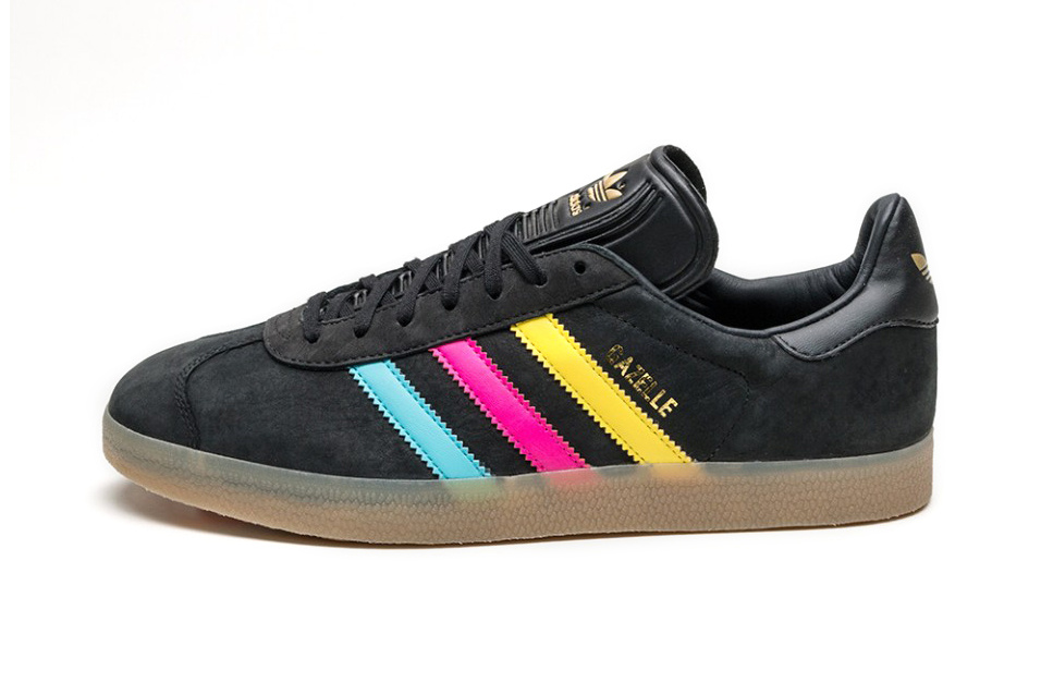 Une nouvelle version colorée de la mythique adidas Originals Gazelle !
