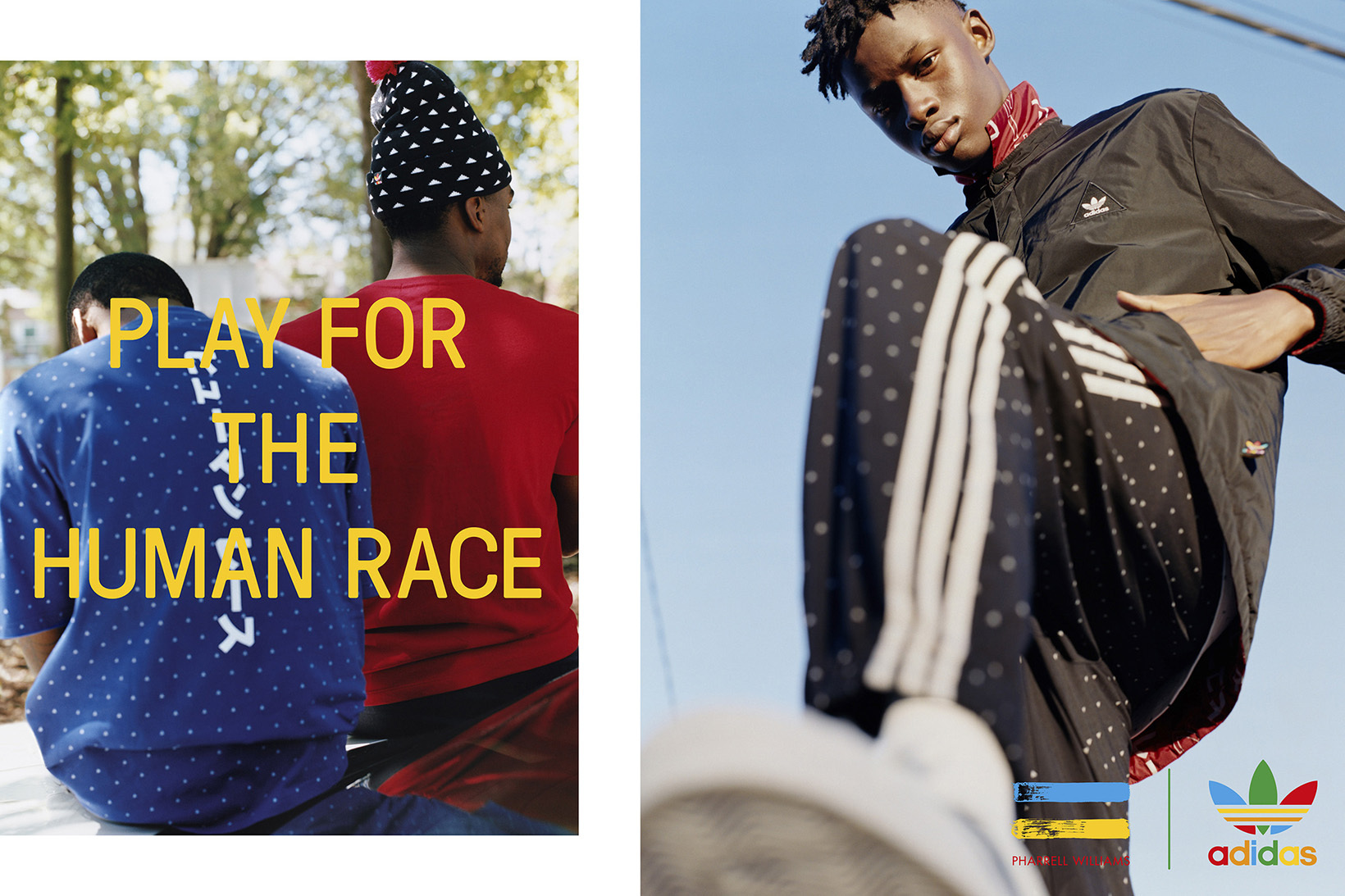 adidas Originals x Pharrell Williams collection Holiday 2016 - TRENDS periodical
