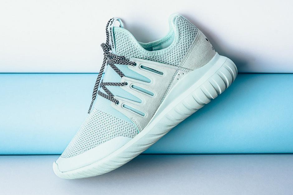 Découvrez la nouvelle adidas Tubular Radial «Ice Mint»