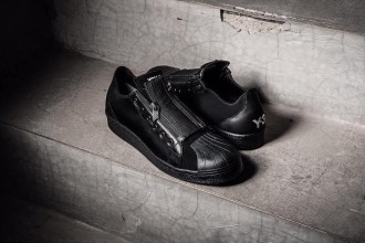 adidas Y-3 Super Zip Triple Black - TRENDS periodical