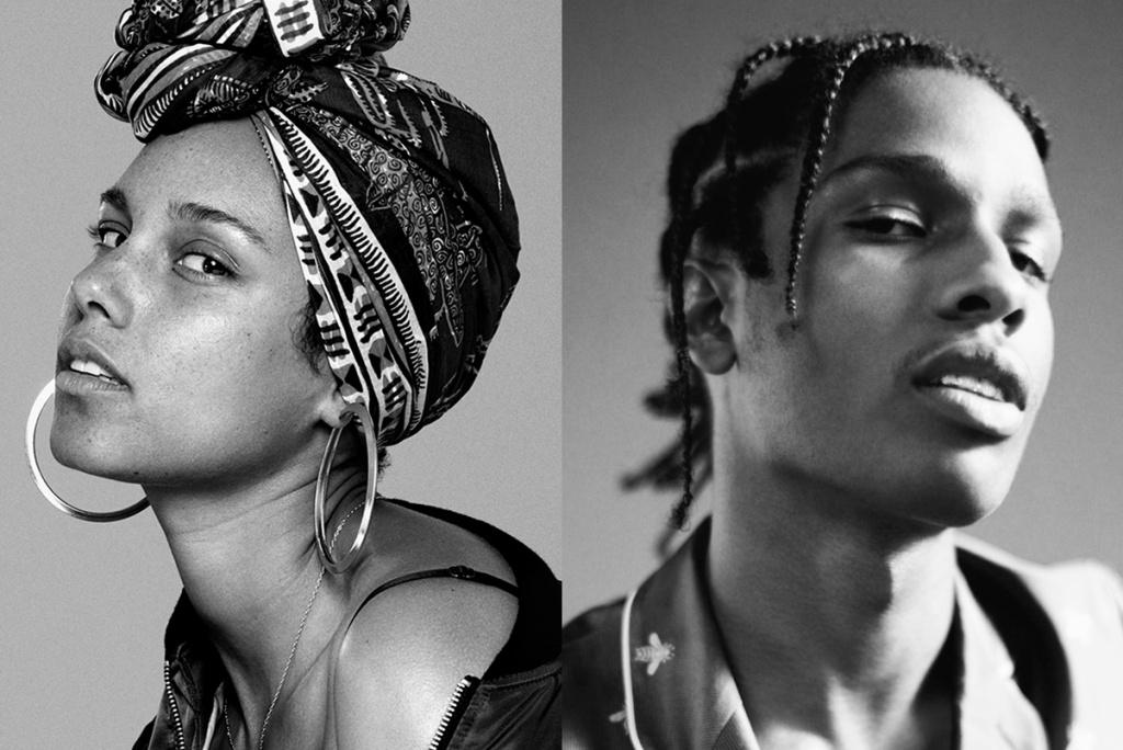 A$AP Rocky rejoint Alicia Keys dans le clip de «Blended Family»