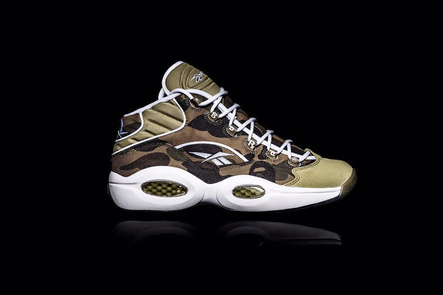 Bape x Reebok Question Mid - TRENDS periodical