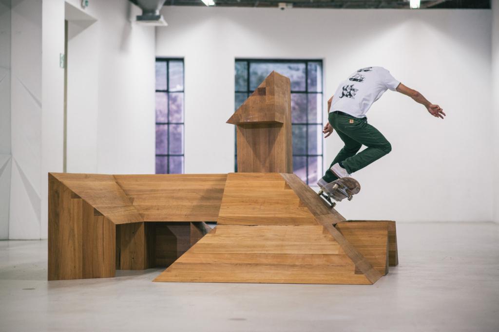 Carhatt WIP x ISLE Skateboards x Raphaël Zarka - TRENDS periodical