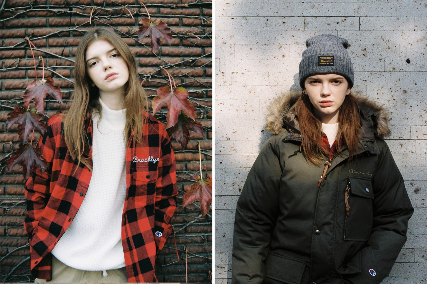 Chmpion Japon Editorial Lookbook - TRENDS periodical