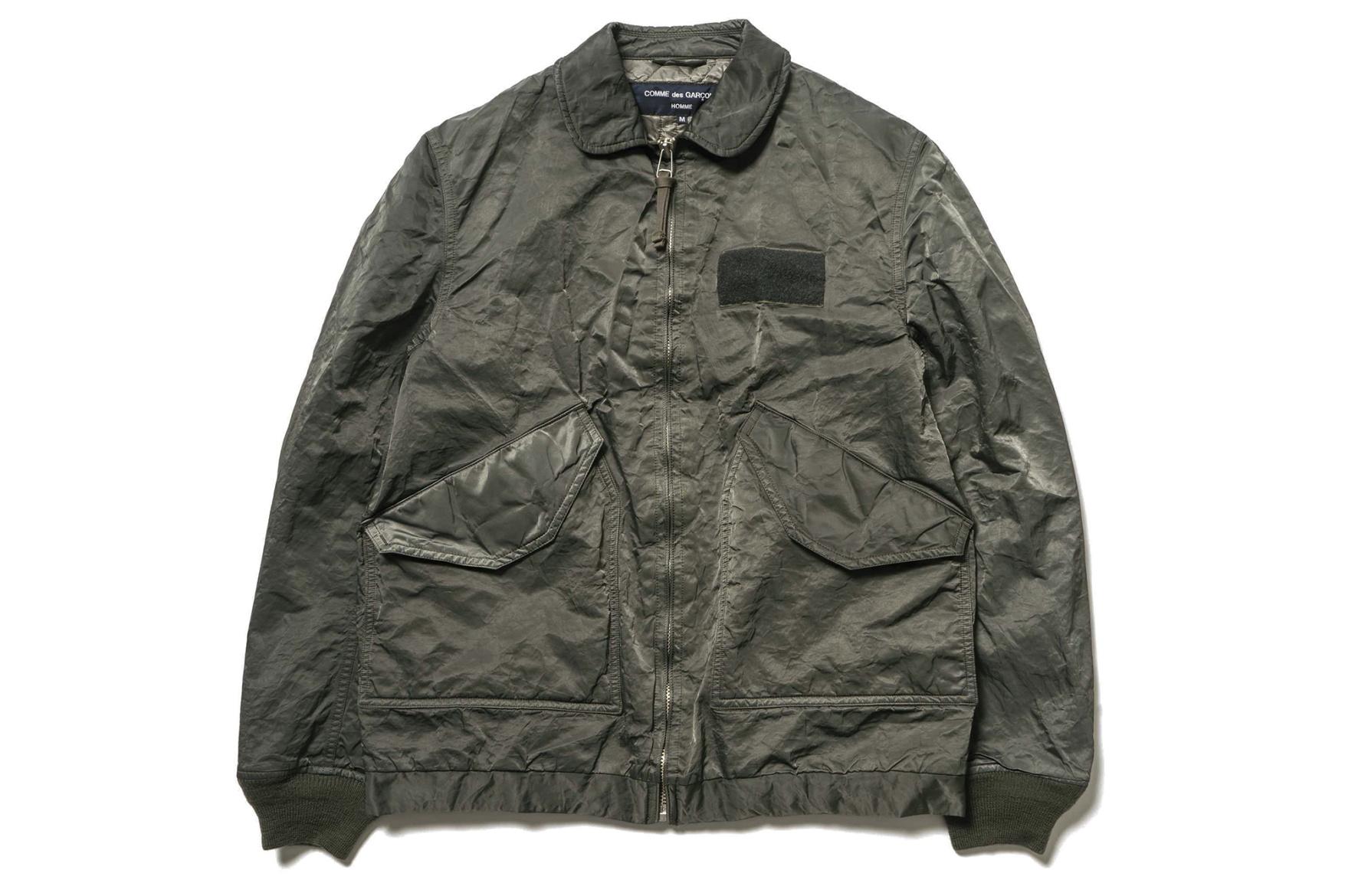 Comme des Garçons Homme dévoile une nouvelle collection de vestes
