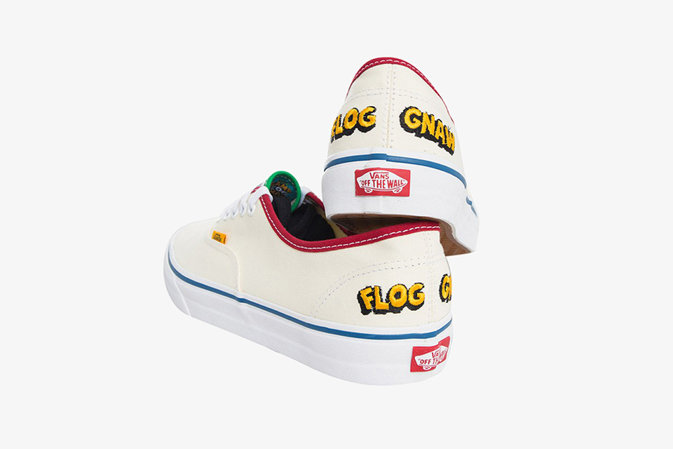 Golf Wang Tyler The Creator x Vans Authentic - TRENDS periodical