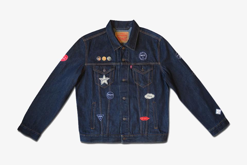 Découvrez la nouvelle «Mixed Emotions» : veste signée Levi's x colette x Studio Ceizer