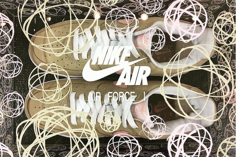 La Nike Air Force 1 «Linen» est de retour chez KITH