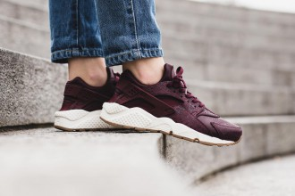Nike Air Huarache Premium Maroon/Black - TRENDS perodical