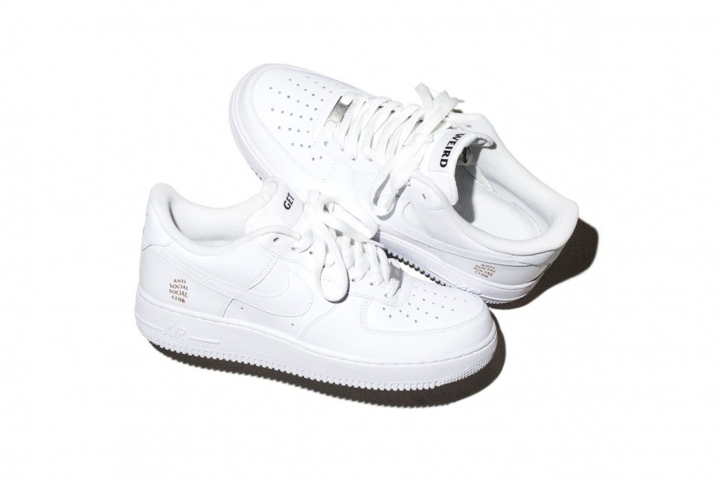 Anti Social Social Club x Nike Air Force 1 - TRENDS periodical