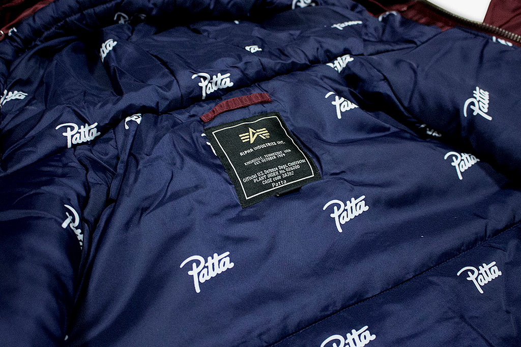 Patta x Alpha Industries - TRENDS periodical