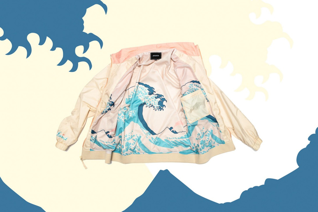 Pink Dolphin et Brooks lancent une collab' dédiée à l'art japonais