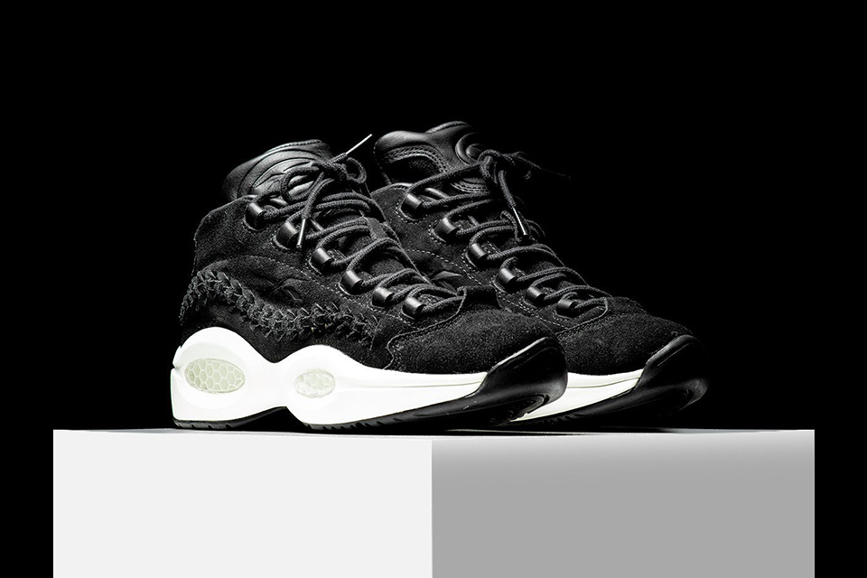 Tombez sous le charme de la Reebok x Hall Of Fame Question Mid « Black Braid »