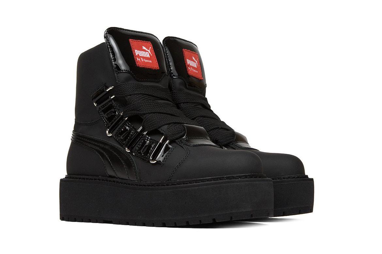 Amis rebelles, la nouvelle sneaker-botte unisex Puma by Rihanna est faite pour vous