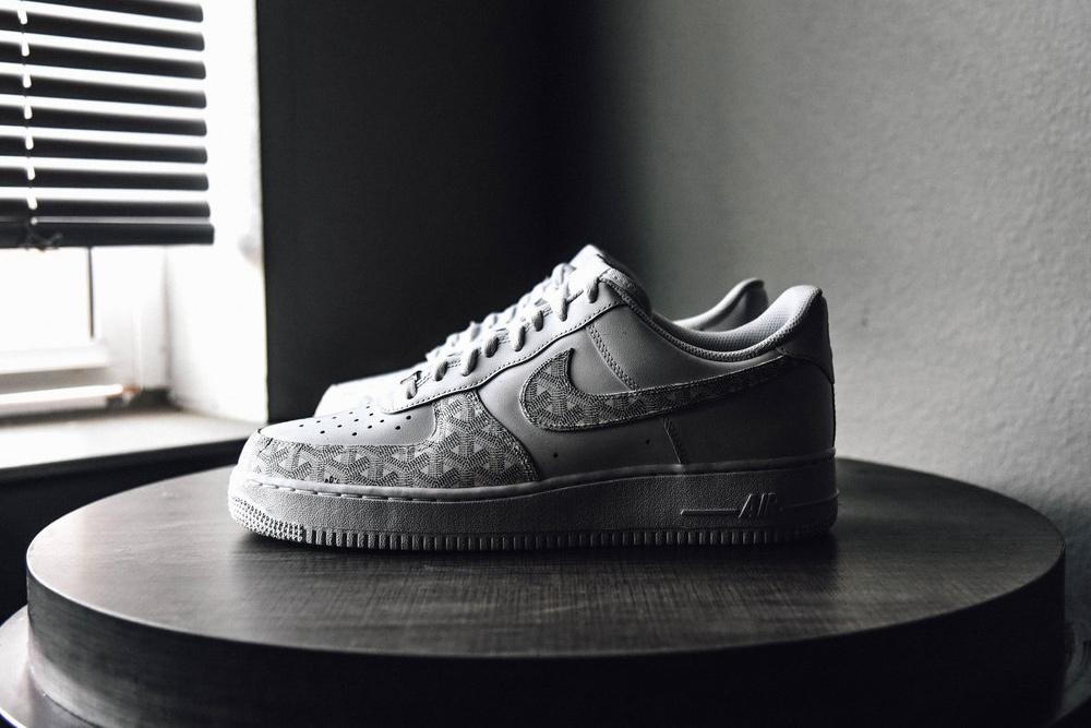 Sneakers Custom Kermit / Stan Smith / Air Force 1 / Goyard - TRENDS periodical
