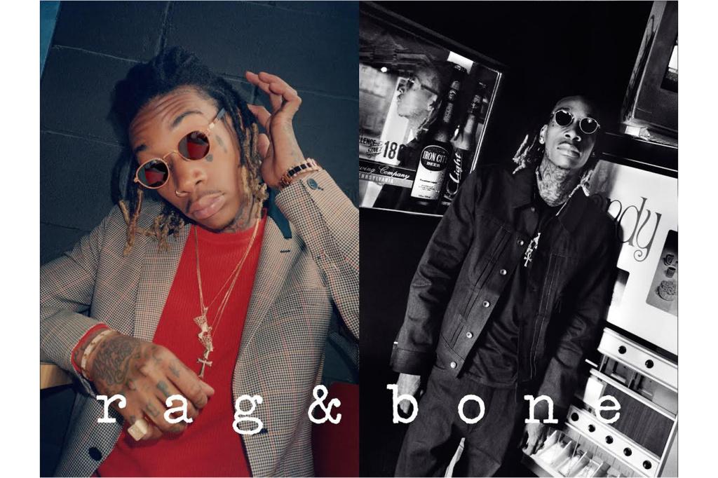 Wiz Khalifa devient le nouveau visage de Rag & Bone
