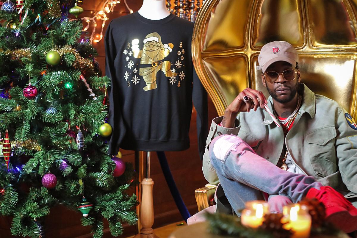 Découvrez le plus cher «sweat moche de Noël» de tous les temps par 2 Chainz