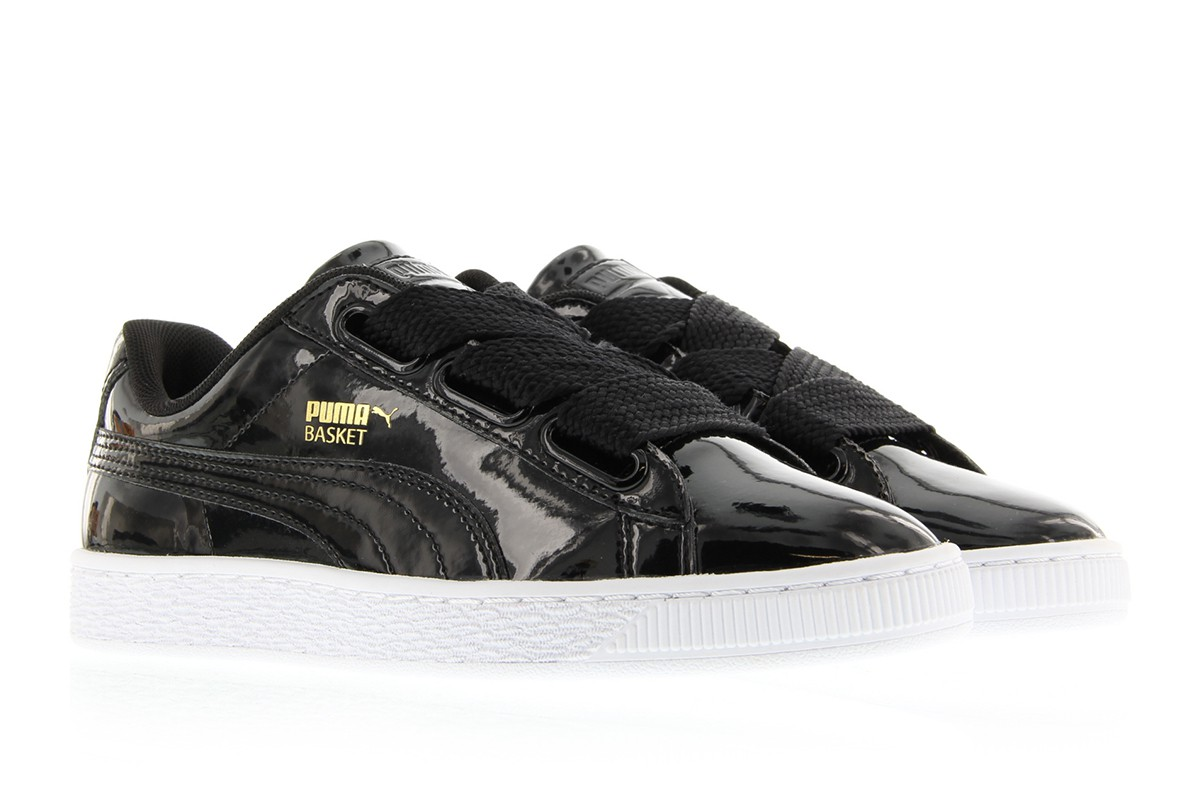 Puma Basket Heart Noir
