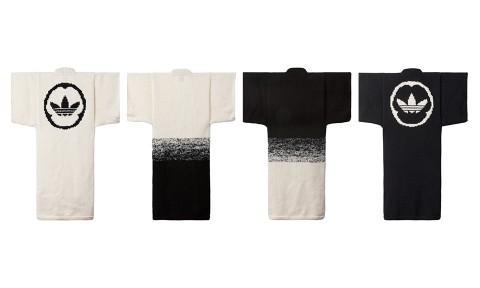 Découvrez la nouvelle collection de kimonos adidas Originals x wings+horns