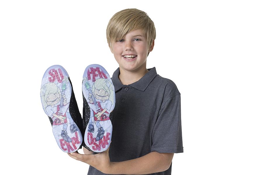À seulement 10 ans, Damien Phillips imagine la Air Jordan 7 Doernbecher
