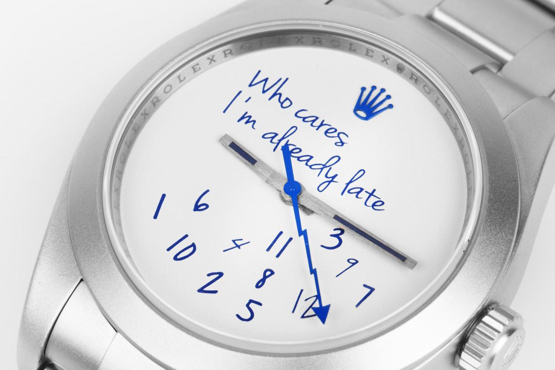 colette et Mad Paris développent la Rolex Milgauss «Who Cares»