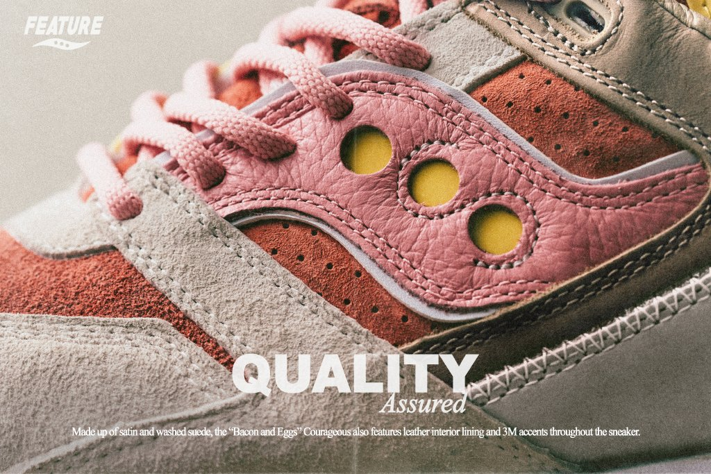 Feature x Saucony - TRENDS periodical