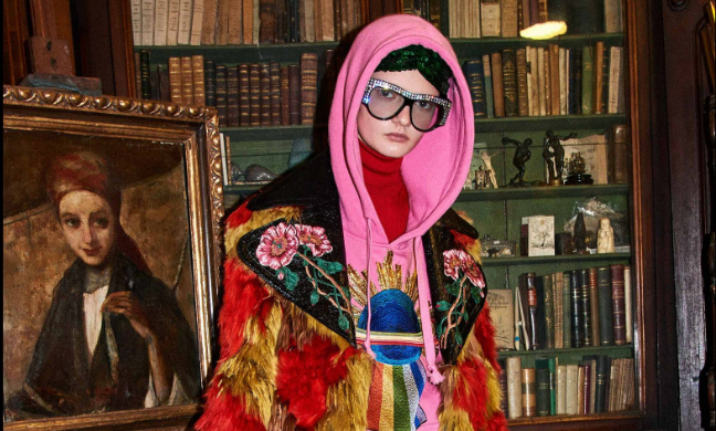 Gucci plus kitsch que jamais, et on adore ça