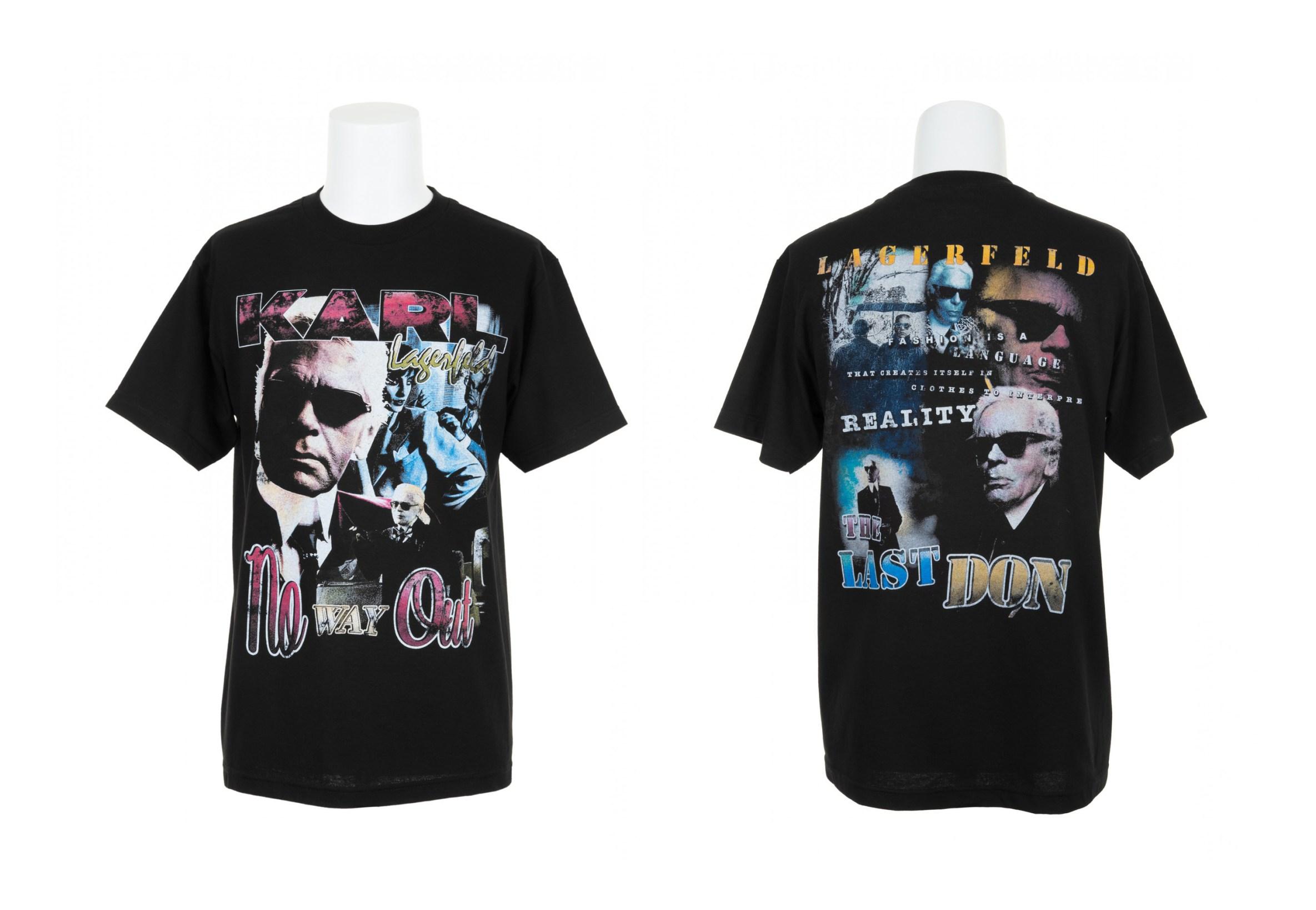 Colette x Modern Man : des t-shirts à l'effigie des designers de Mode du moment