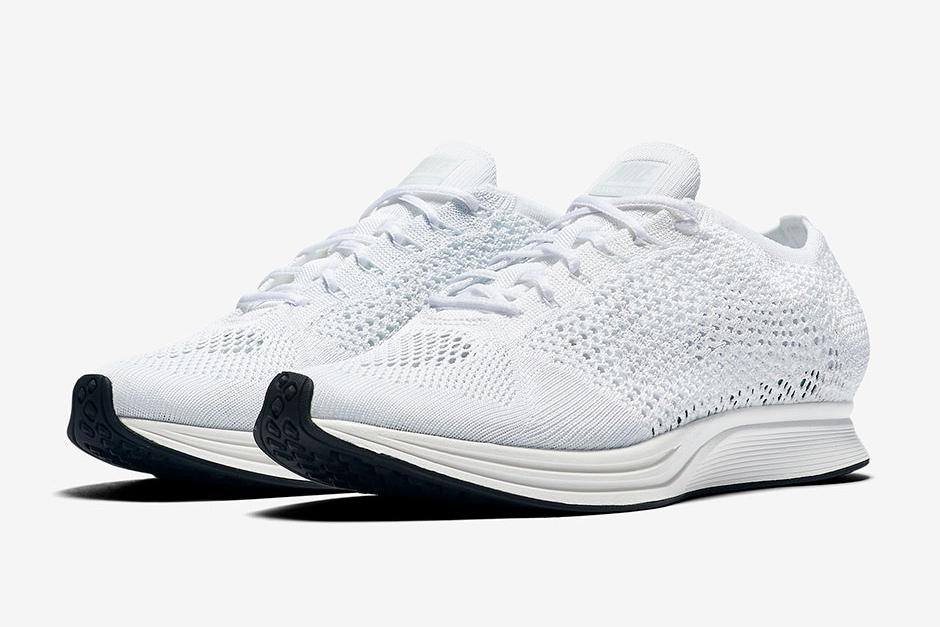 La Nike Flyknit Racer «All White» arrive au printemps