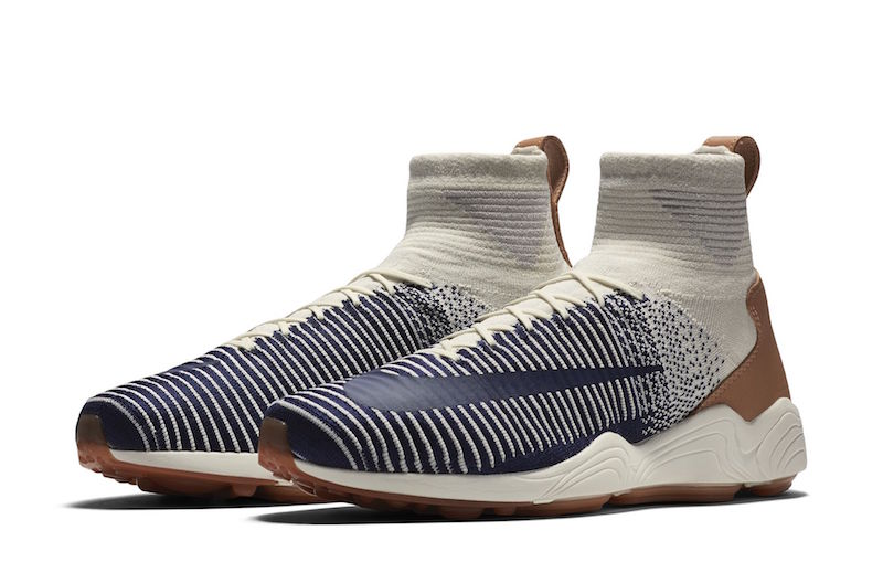 Nike continue d'allier confort et style avec sa Zoom Mercurial Flyknit «Sail»