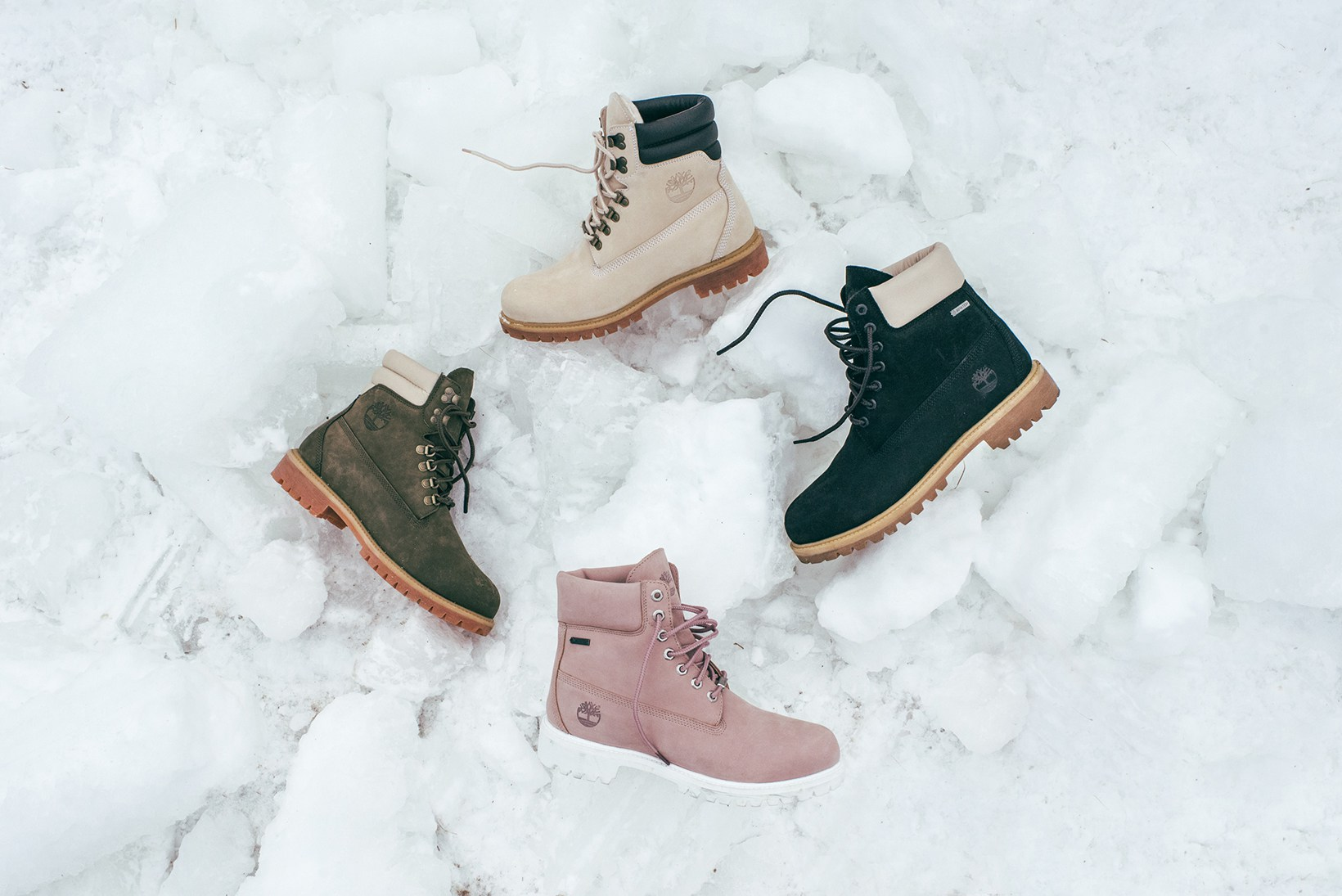 Le pack Timberland x Ronnie Fieg pour braver le grand froid avec style