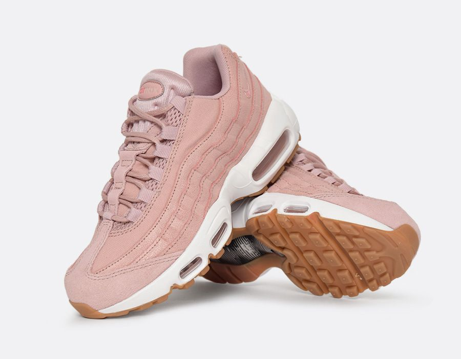 la nike air max 95 pink oxford girly souhait trends periodical. Black Bedroom Furniture Sets. Home Design Ideas