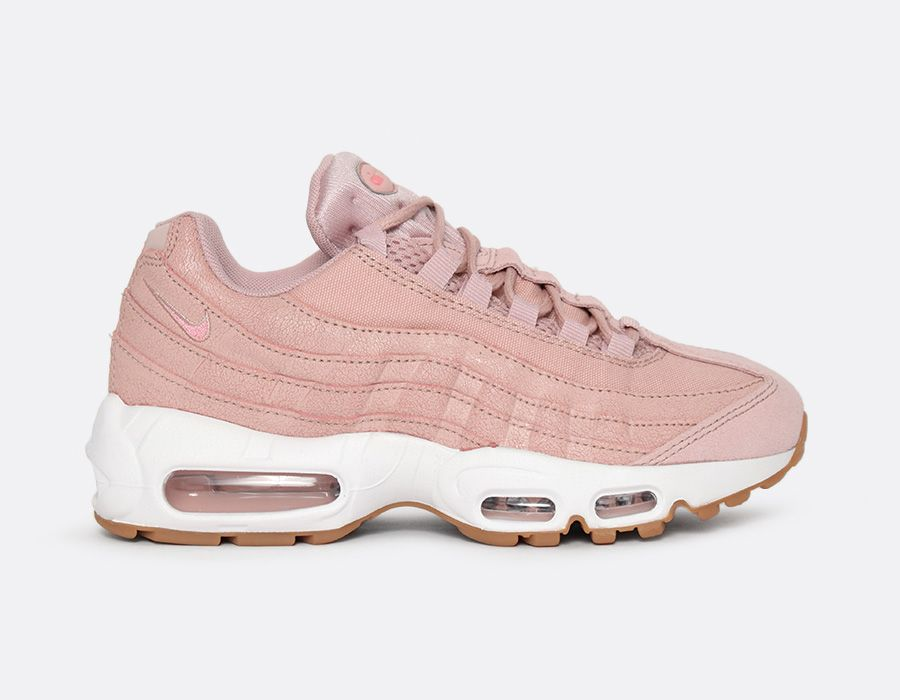 la nike air max 95 pink oxford girly souhait trends. Black Bedroom Furniture Sets. Home Design Ideas