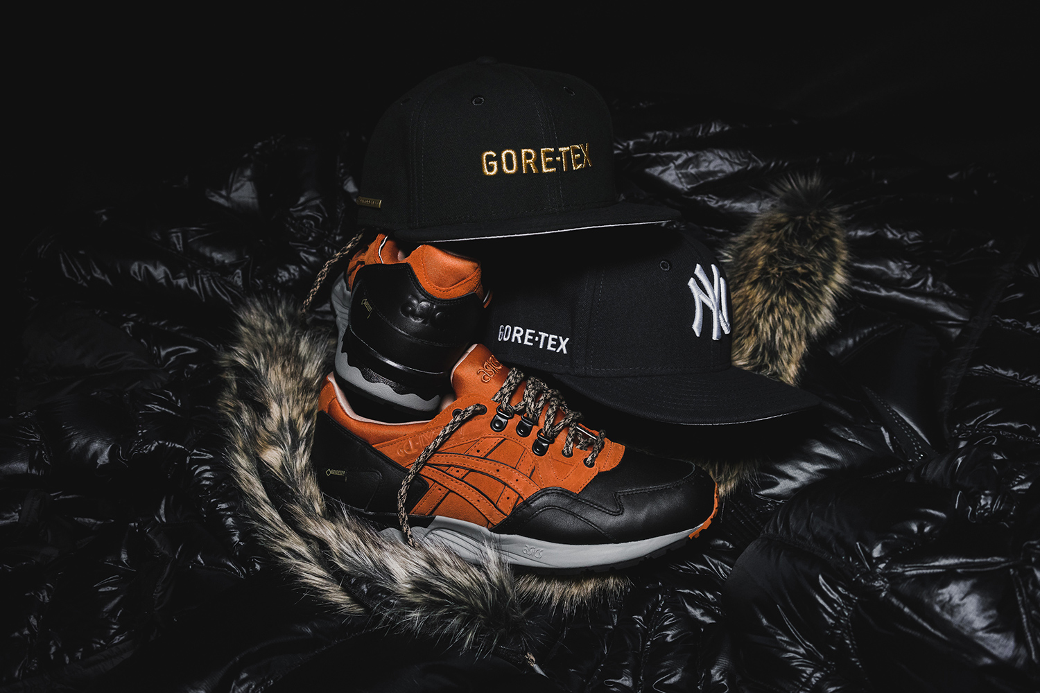 Packer Shoes, Asics et New Era font équipe pour un pack « GORE-TEX »