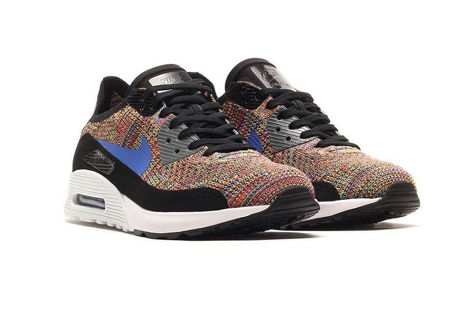"Voici la Nike Air Max 90 Flyknit ""Multicolor"""