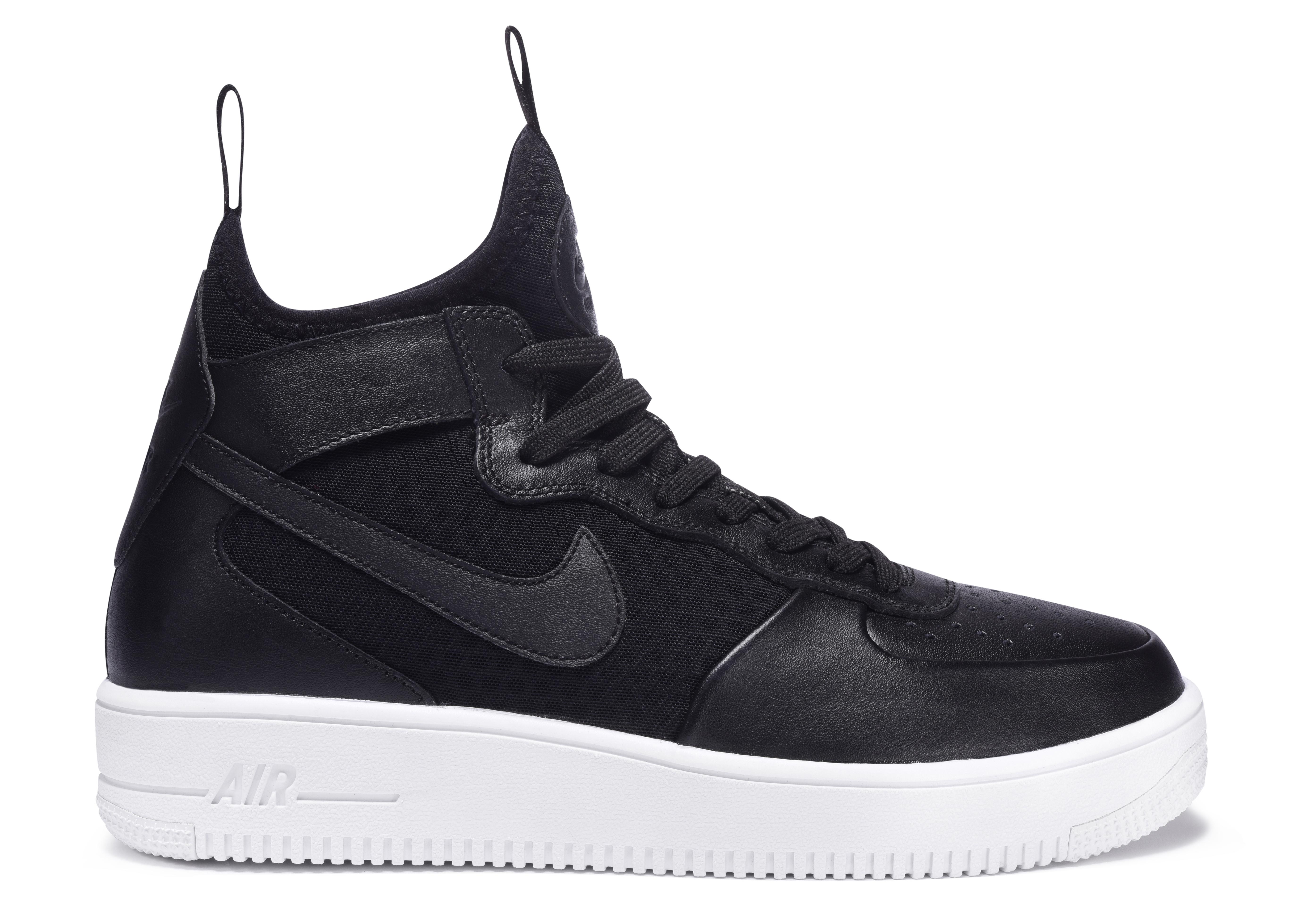 Nike AF 1 Ultra Force Mid Black Black