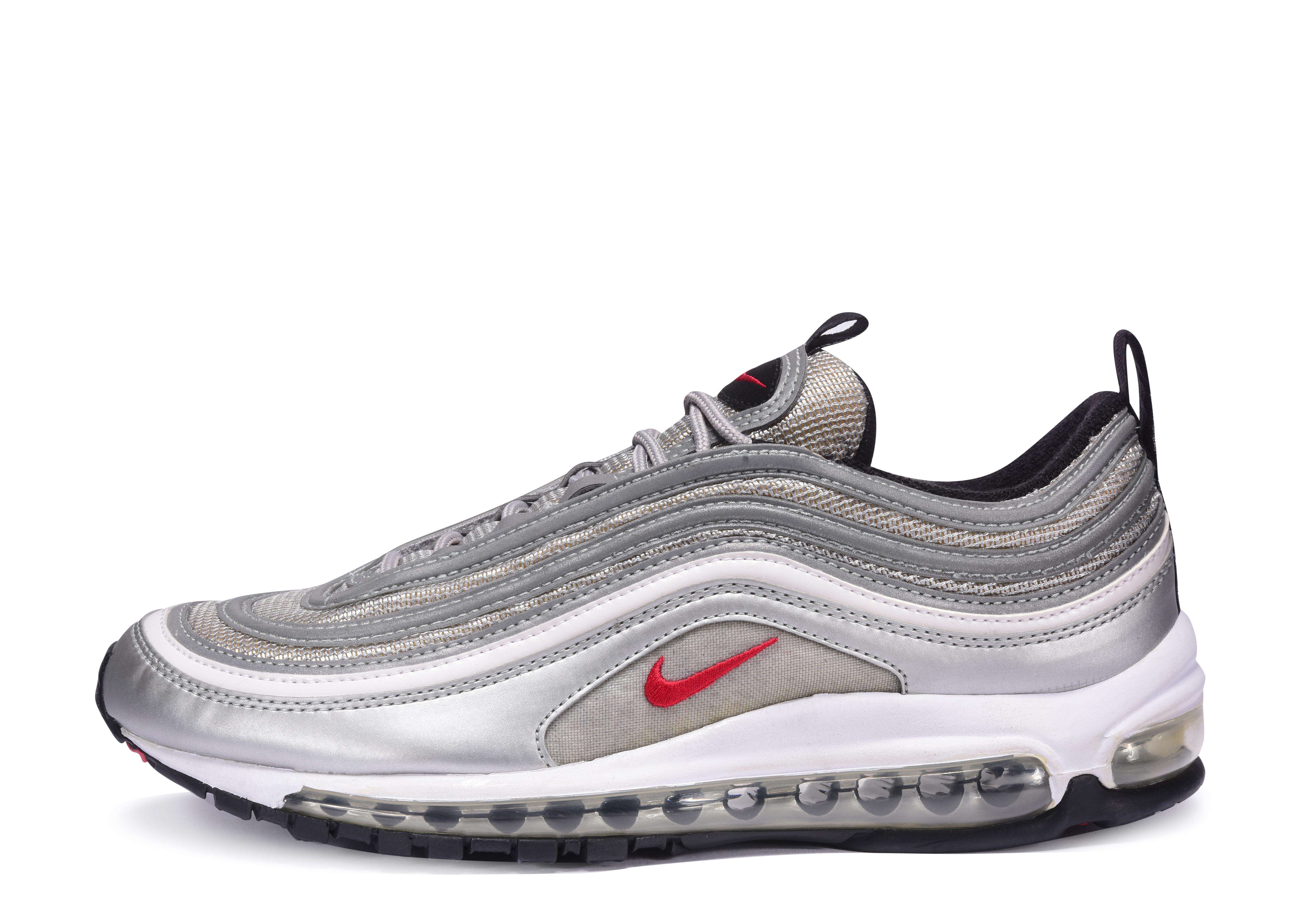 Nike AM 97 OG Metallic Silver Rusty Red