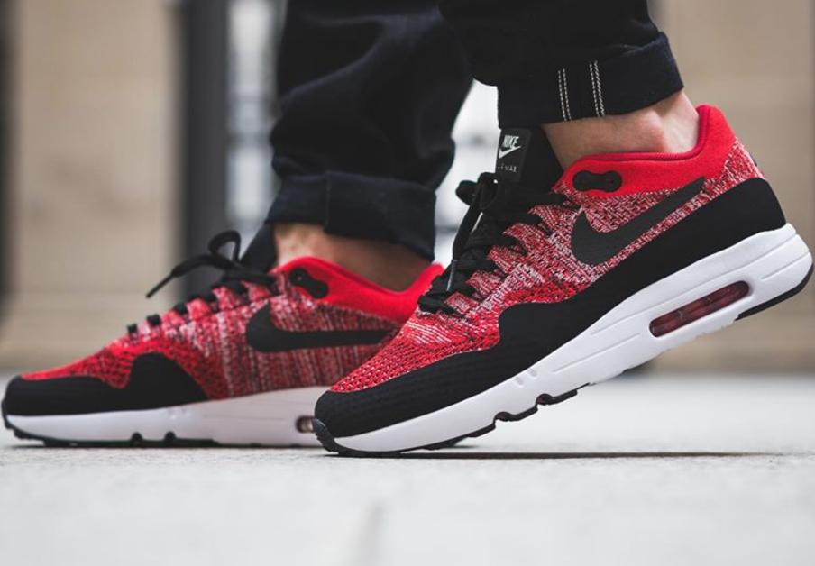 nike air max 1 ultra flyknit rouge