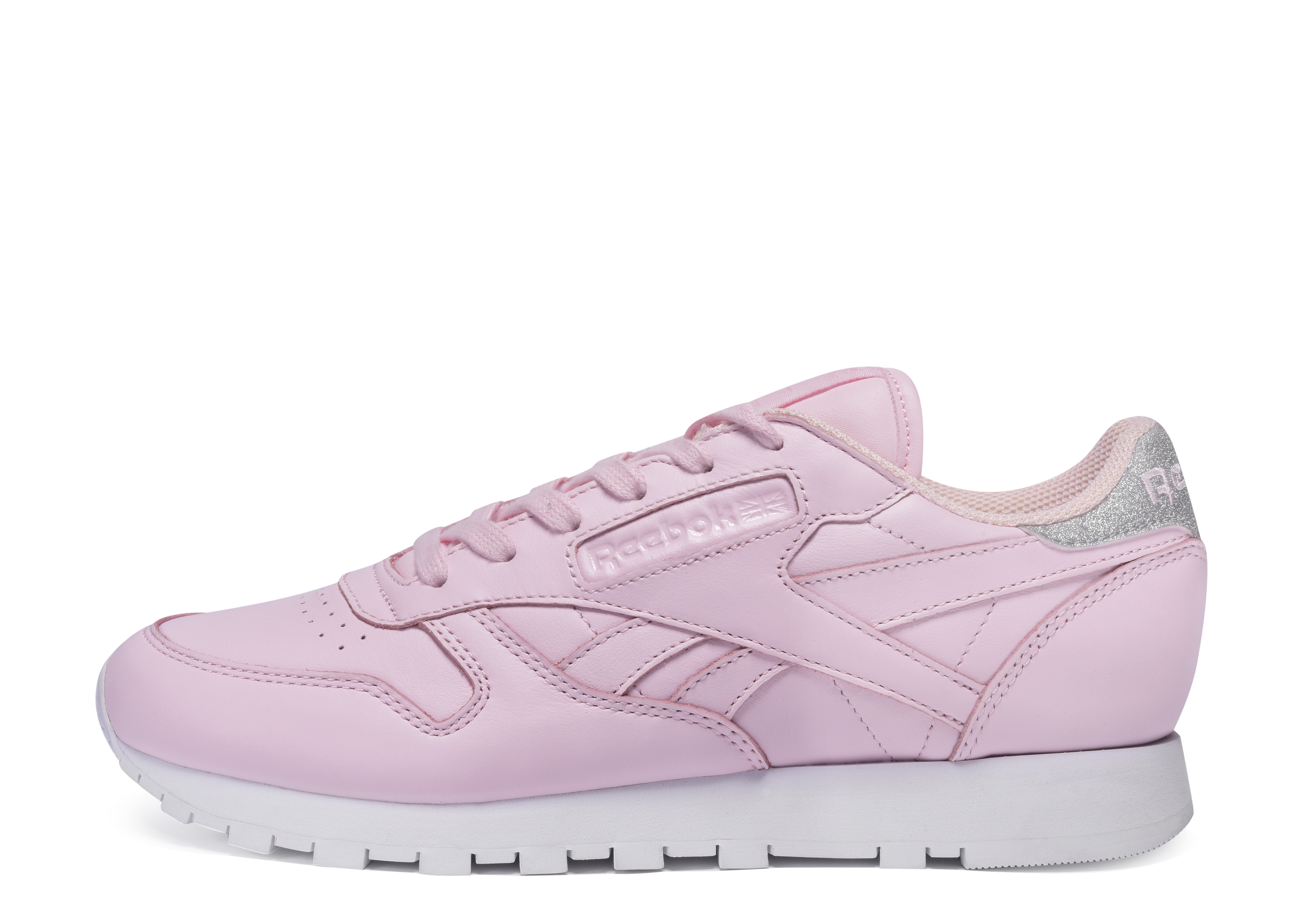 Reebok Classic Leather Diamond Porcelain Pink Silver
