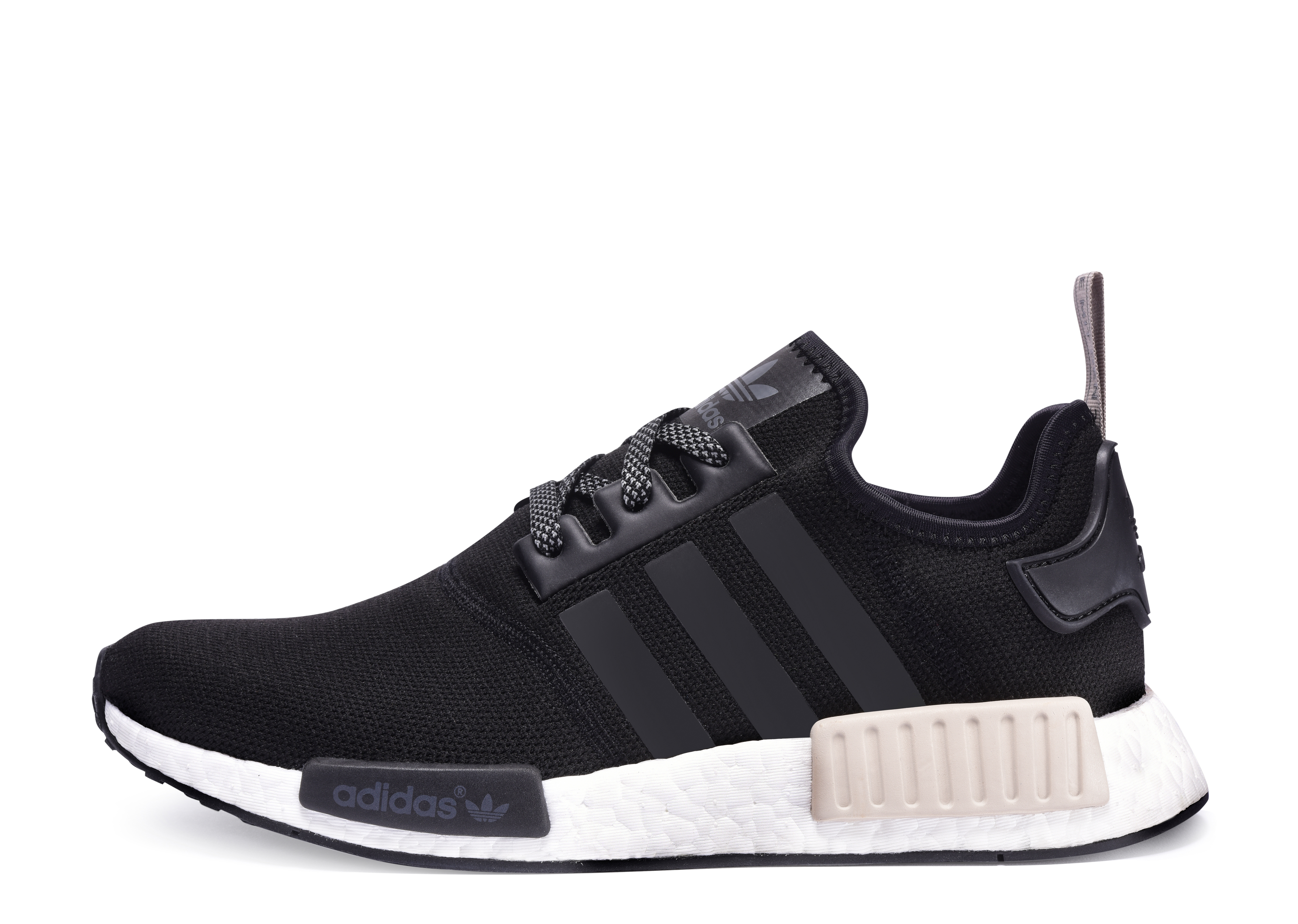 adidas NMD Black Black Light Brown