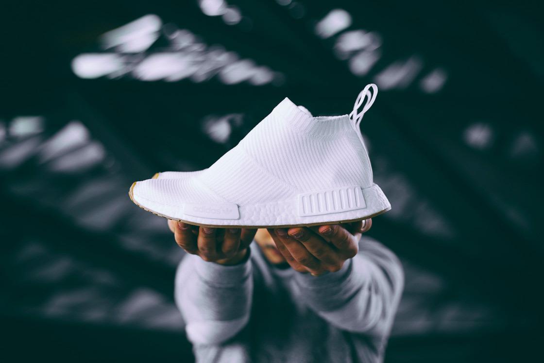 La adidas NMD City Sock 1 n'a pas dit son dernier mot avec le pack «Gum Sole»
