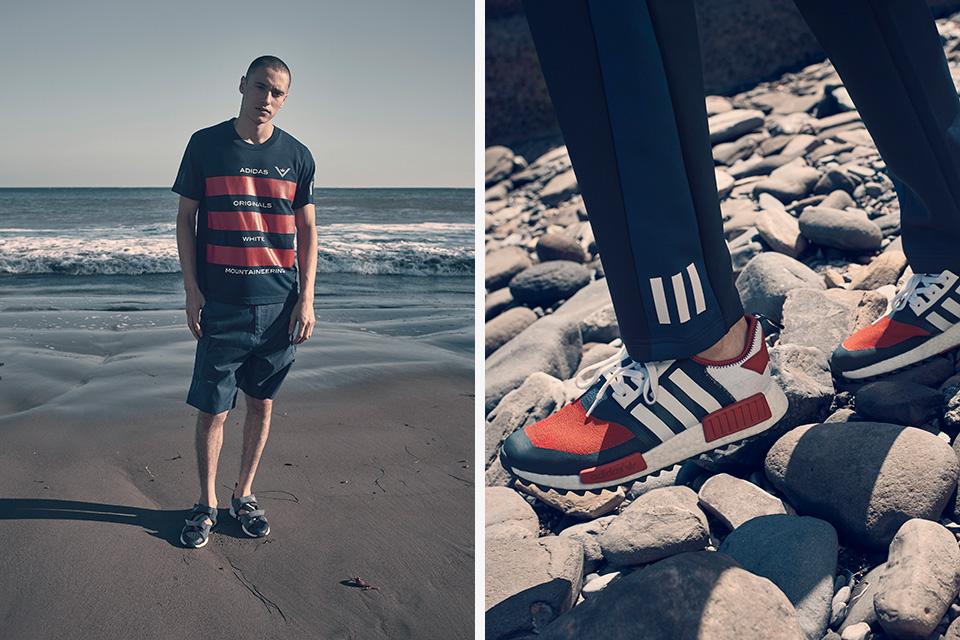 Adidas Originals et White Mountaineering dévoilent leur collection SS17