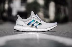 La Adidas UltraBOOST 3.0 arrive avec des bandes iridescentes
