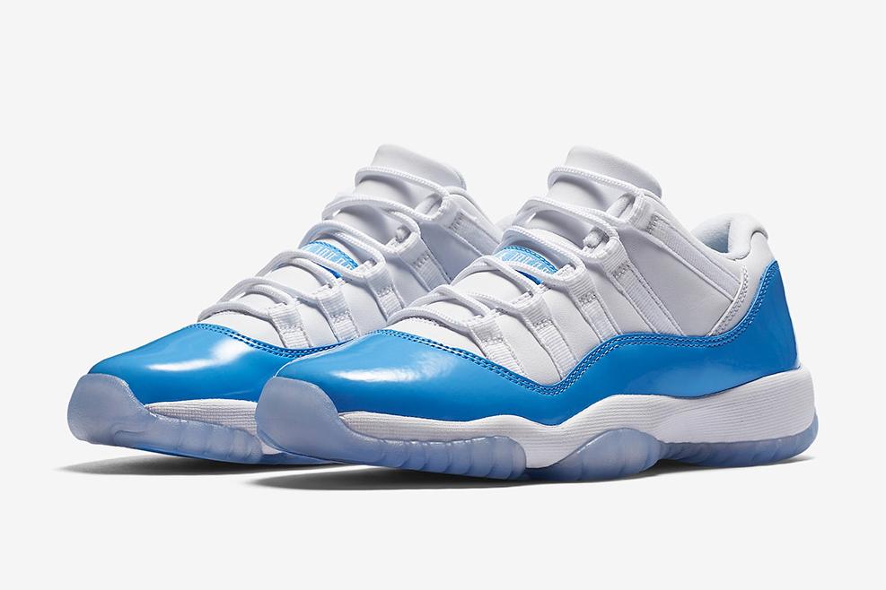 Découvrez les Air Jordan 11 Low «University Blue»