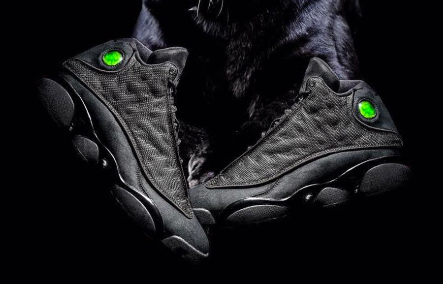 Jordan Brand s'apprête à sortir une version «Black Cat» de la Air Jordan 13 pour les 20 ans de la sneaker